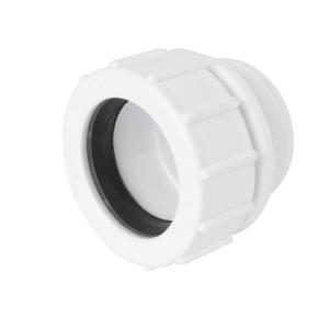 Osma waste running adaptor white 40mm