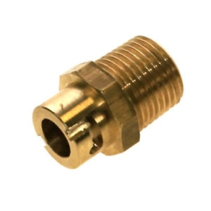 Straight Micro Bayonet Socket Connector 12mm