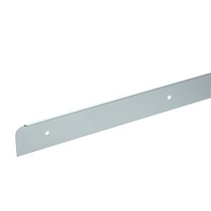 Homelux Kitchen Worktop End Trim Satin Aluminium 630mm No19