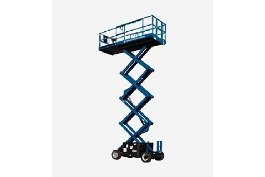 Scissor Lift (diesel) Working Height 12.06m - Gs33
