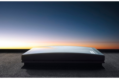 VELUX Curved Glass Top Cover 1200mm x 1200mm