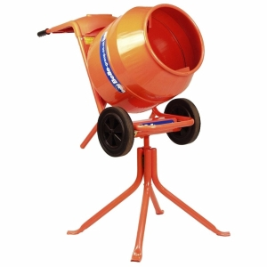 Cement Mixer Tip Up Petrol