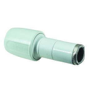 Hep2O socket reducer white 22x15mm