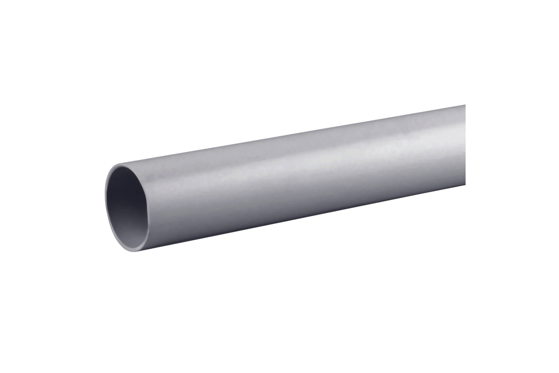 Osmaweld 4Z074G 32mm Plain Ended Pipe Grey 4m