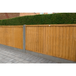6ft x 4ft 1.83m x 1.22m Closeboard Fence Panel - Pack of 3