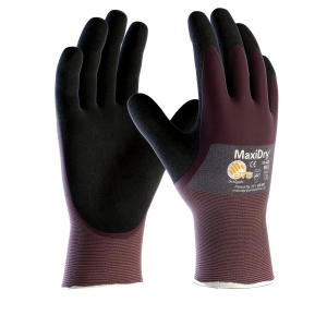 Atg Maxidry 3/4 Coated Work Glove Size 9
