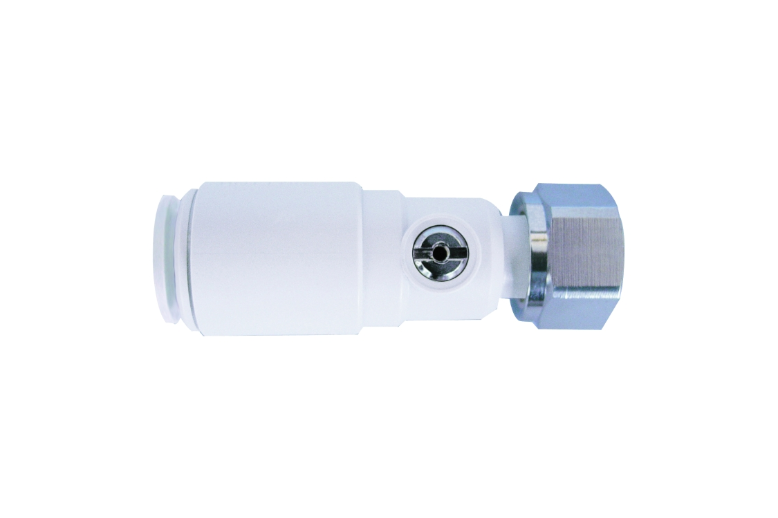 Speedfit Plastic Striaght Service Valve Tap Connector White 15SVSTC-W