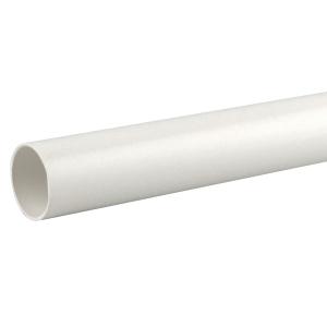OsmaWeld plain ended pipe white 40mm