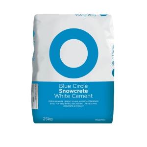 Blue Circle Snowcrete White Cement 25kg