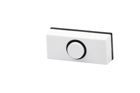 4TRADE Wired Doorbell Push White