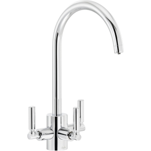 Abode Orcus Aquifier Dual Lever Filter Sink Tap Chrome AT2072
