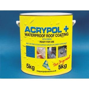 Acrypol +  Waterproof Roof Coating 5kg Black