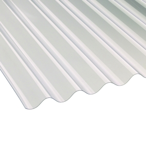 Ariel Vistalux 3in Super Weight Corrugated PVC Sheet 10' x 1.3mm