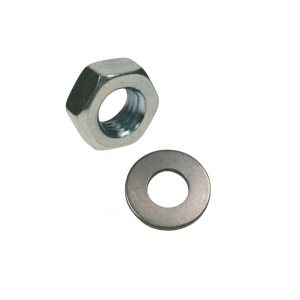 Rawl Nuts & Washers M8 Zinc Plated - Bag of 100
