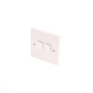 4TRADE 2gANG 2WAY Light Switch 10AX
