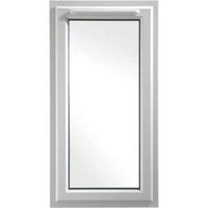 Euramax White Upvc Casement Window 1P Left Side Hung 610 x 1040mm