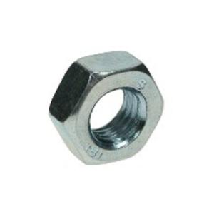 4TRADE Hexagon Full Nuts M12 Zp Pk 10