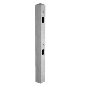 Supreme Concrete Fence Post 8ft Mortice Intermediate MRT244I - Pack of 36