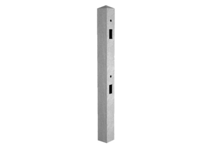 Supreme Concrete Fence Post 8ft Mortice Intermediate MRT244I - Pack of 36