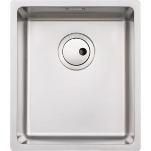 Abode Matrix R15 1 Bowl Medium Undermount Stainless Steel Kitchen Sink