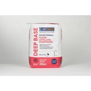 Setcrete Deep Base Floor Levelling Compound 20kg 346361