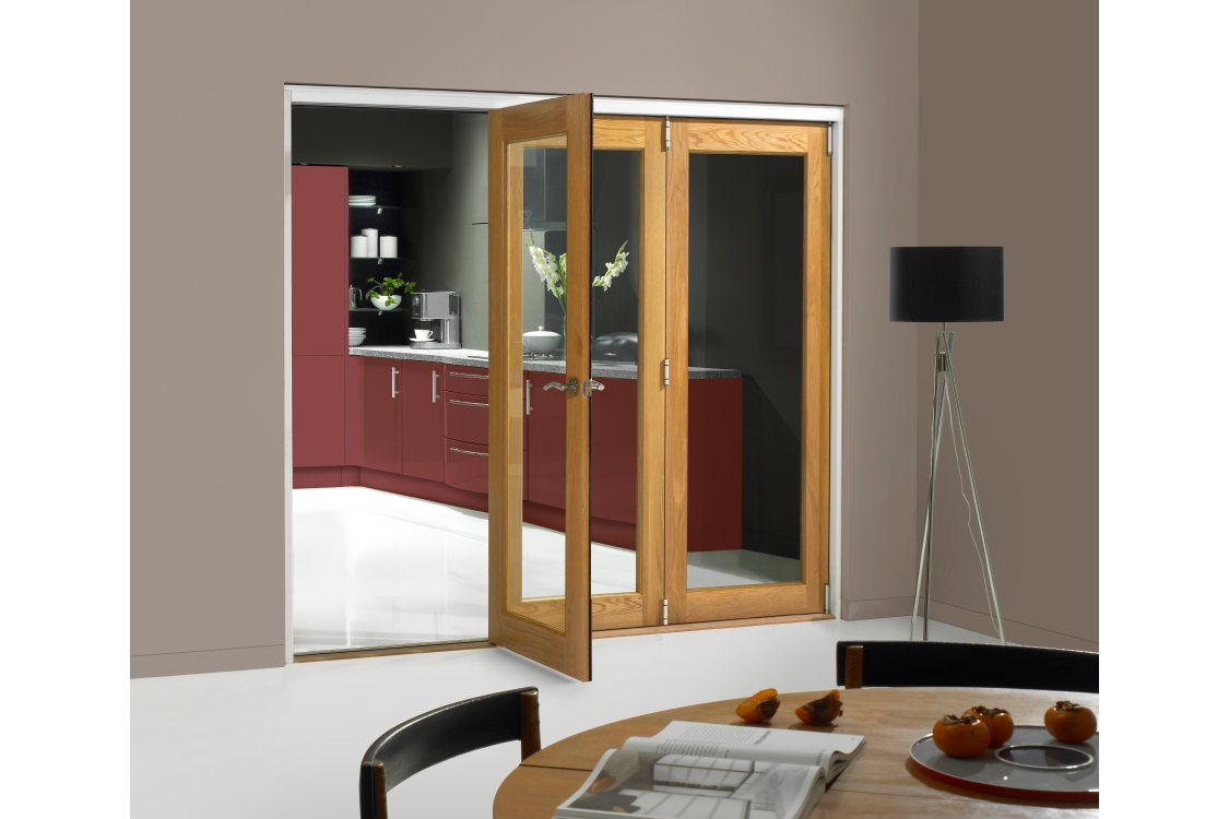 Internal Oak Veneer Pattern 10 Door 2074 mm x 1790 mm