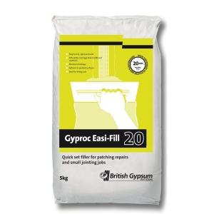British Gypsum Gyproc EASI-FILL 20 Minutes 5kg