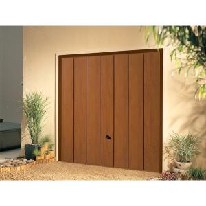 Garador Sherwood Type C Steel Up & Over Garage Door 2134mm x 2134mm Golden Oak