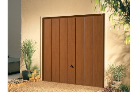 Garador Sherwood Type C Steel Up & Over Garage Door 2134mm x 2134mm Golden Oak