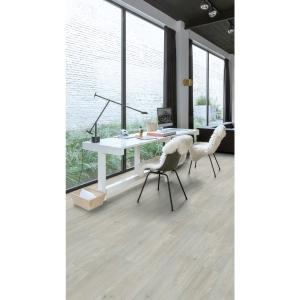 Quick Step Luxury Vinyl Tile Balanced Silk Oak Light Flooring 1251 X 187 X 4.5mm Pack Size 2.105m2