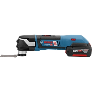 """Bosch Gop 18V-28 18V MULTI-CUTTER with 2 x 5.0 Ah BATTERIES, Charger and x 16 Accs with L-BOXX"""""""