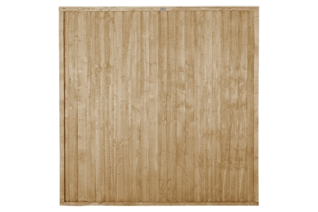 Pressure Treated Closeboard Fence Panel 6ft x 6ft 1.83m x 1.83m Pack 3