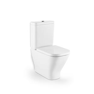 Roca Cleanrim Soft Close Toilet Seat White A801732004