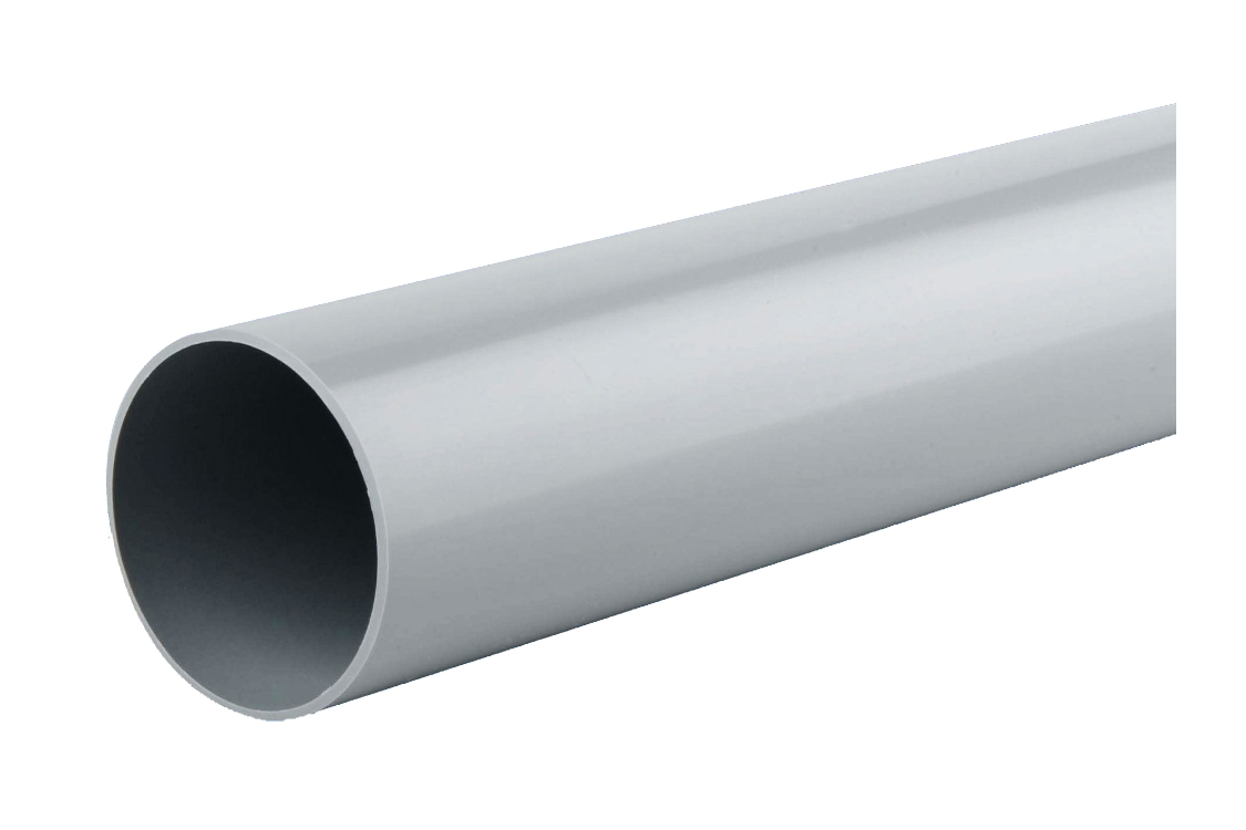 Osma RoundLine 0T084 Pipe 68mm Grey 4M