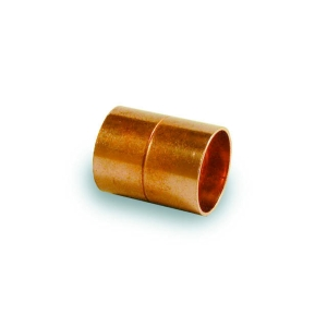 Straight Coupling End Feed 22mm