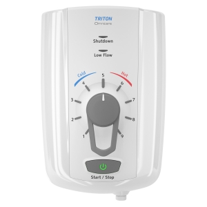 Triton Omnicare Design 8.5kW Electric Shower with Grab Kit