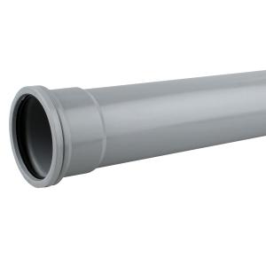 OsmaSoil 4S043G 110mm Socketed Pipe Grey 3M