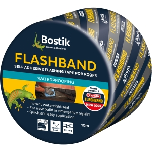 Evo-stik Flashband Self Adhesive Flashing Tape Grey 75mm x 10m