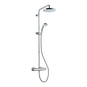 Mira Coda Plus Thermostatic Mixer Shower (Exposed Valve with Large Head and Diverter) Chrome 1.1836.006