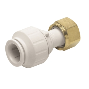 JG Speedfit straight tap connector 15mm x 3/4inch Pack 5