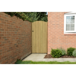 Heavy Duty Dome Top Tongue & Groove Gate 6ft 1.80m High