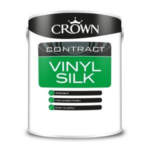 Crown Contract Crown Vinyl Silk Magnolia 5L