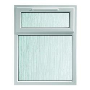 Euramax White Stippolyte Upvc Casement Window 2P Top Hung 1190 x 1040mm