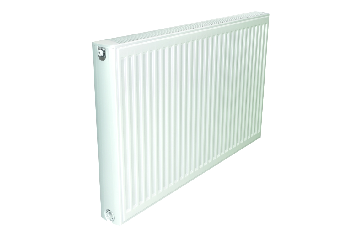 Stelrad Softline Compact Double Panel Single Convector (Type 21 -P+) Radiator 600mm x 400mm