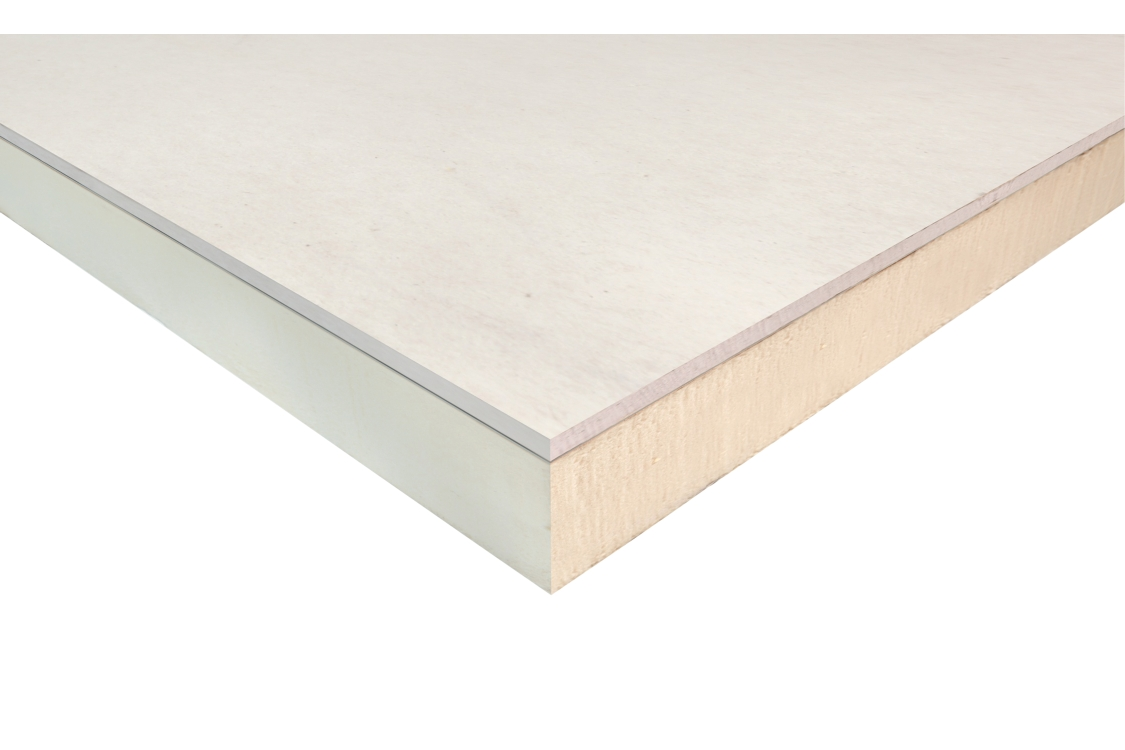 Ecotherm Eco-liner Dab 2400 x 1200 x 82.5 mm Dot & Dab Thermal Laminate ED82.5