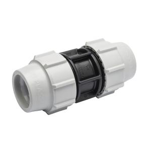 Plasson Mechanical Straight Coupler 25 mm 7010DD0 Pack 10