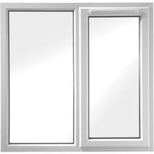 Euramax White Upvc Casement Window 2P Right Side Hung 1190 x 1190mm