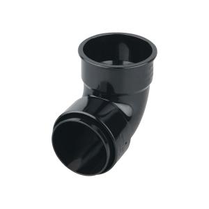 Osma RoundLine 0T161 Pipe Bend 87.5° 68mm Black
