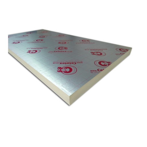 Celotex GA4090 General Application Insulation Board 90mm x 1200mm x 2400mm (2.88m²/Sheet)