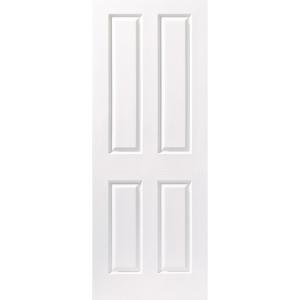 Moulded 4 Panel Grained Hollow Core Internal Door